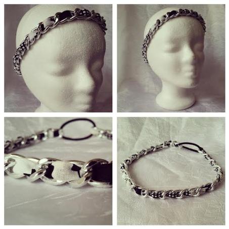 head-band chaine et wax