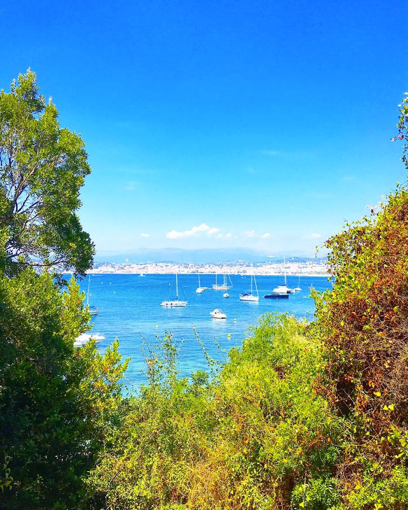 vue île sainte marguerite - blog lifestyle