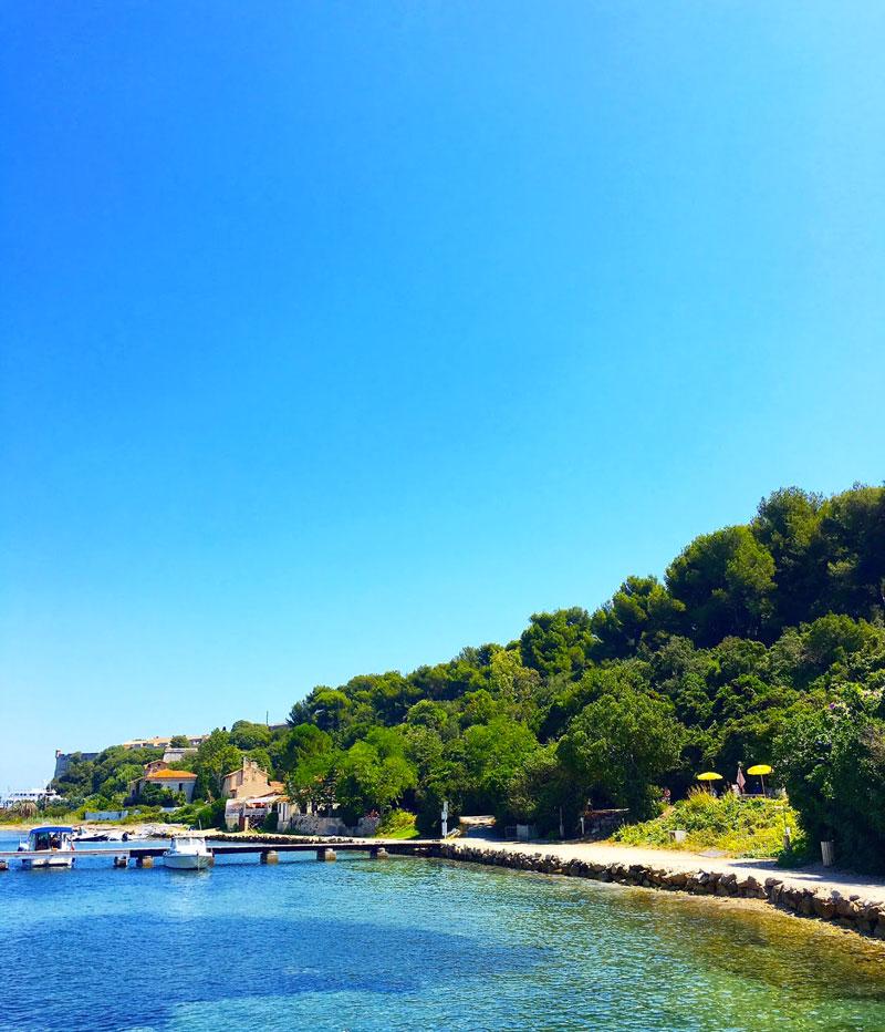 plage île sainte marguerite - blog lifestyle