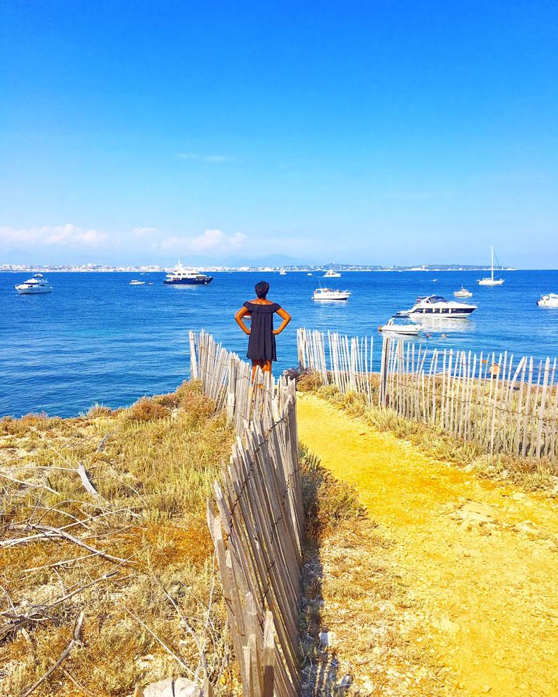 beauté de l'île sainte marguerite - blog lifestyle